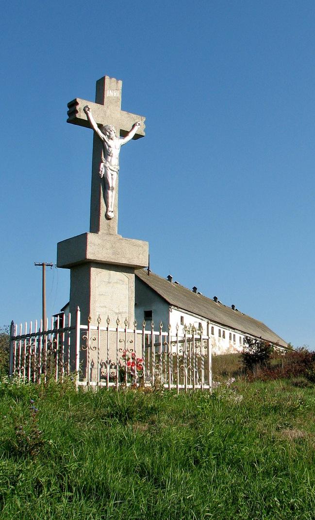 Kríž pri ceste do Stracín