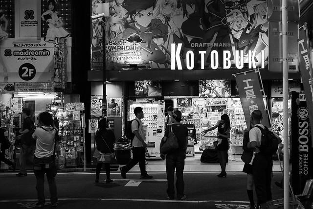 GX7+Nokton Classic : Akihabara