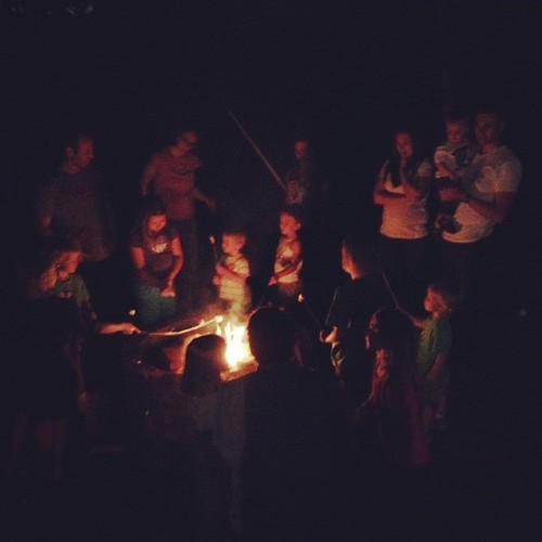 We partied into the night. #covenantfamily