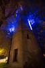 Wide angle Wasserturm at Night
