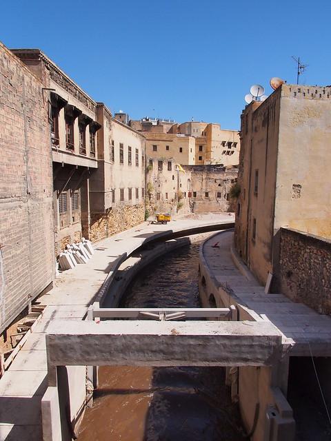 Fes古城的水溝?