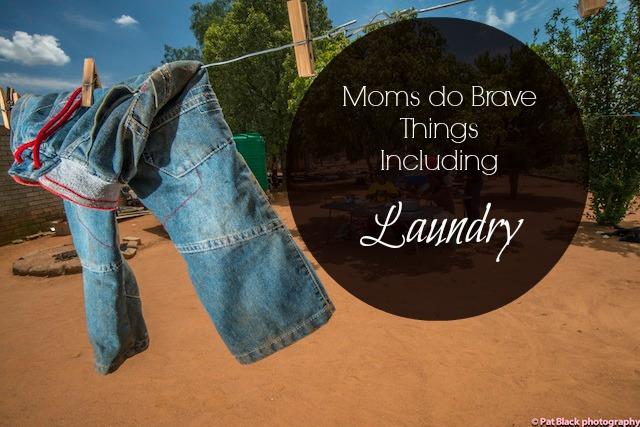 Moms do Brave Things, Including Laundry via new.thegypsymama.com