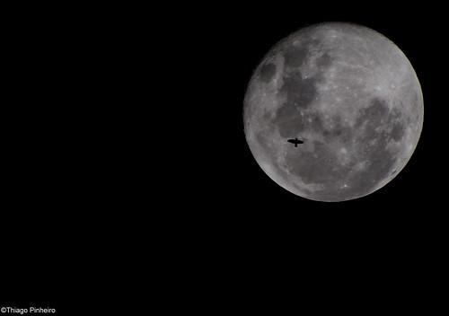 Lua perfeita, momento perfeito!