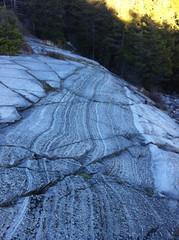 Rock stryations