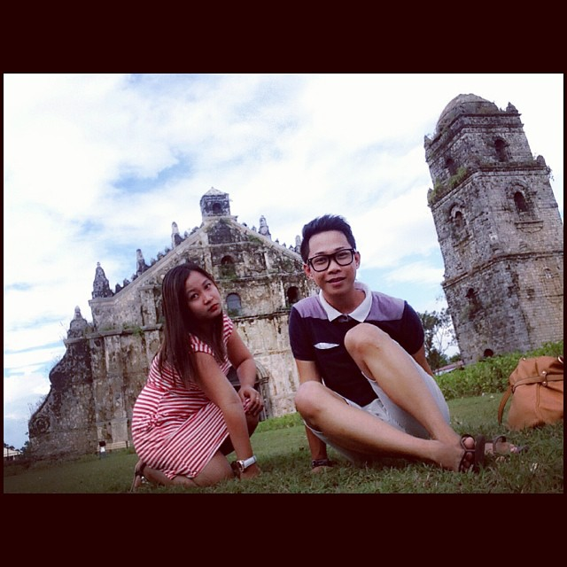Trip without pictures are boring!  #paoay #chruch #trip #sundate #friends #vain