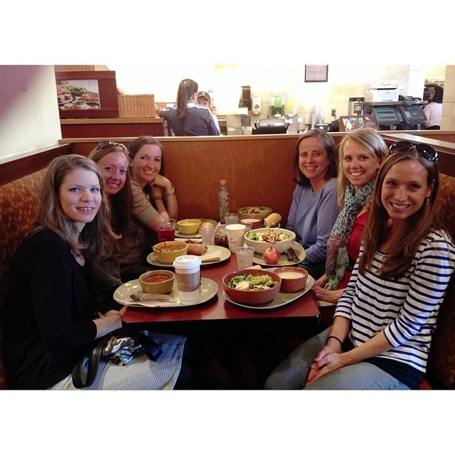 So thankful for this group of women...homeschooling with them this year has been life giving!  #1000gifts
