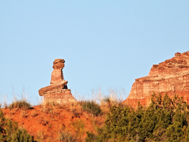 Lighthouse Rock Trail hoodoo in Palo Duro Canyon 20131102