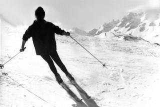 1965 - ski en contrejour
