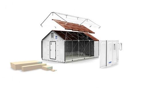 IKEA представила быстросборный дом на солнечных батареях