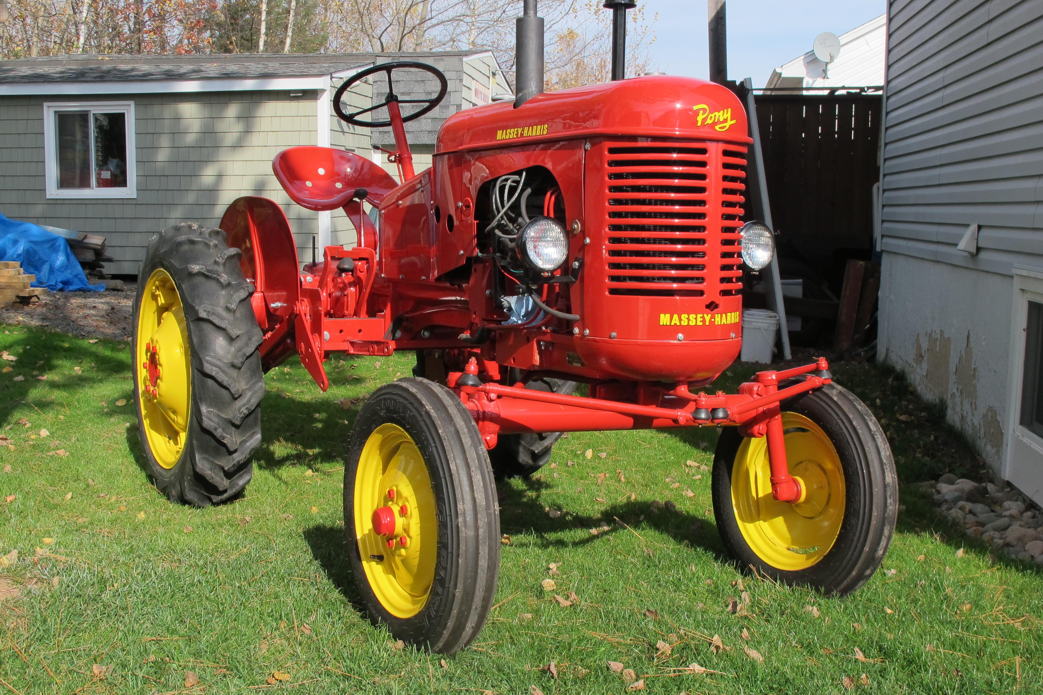 1952 Massey Harris Pony Tractor : Massey harris pony tractor this