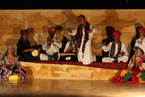 traditional music played every night