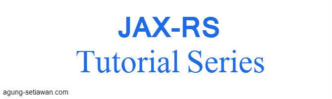 Dasar JAX-RS