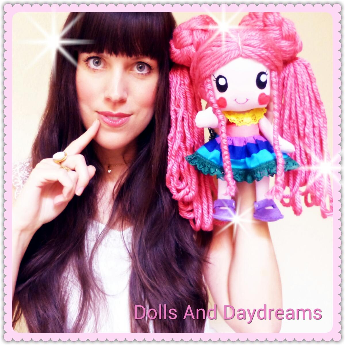 kawaii doll rainbow baby cute