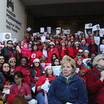 500 RNs March on Kaiser Permanente Headquarters Say 'Don't Be Reason for Unsafe Holiday Season'