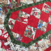 234_Puppy Christmas Table Runner_b