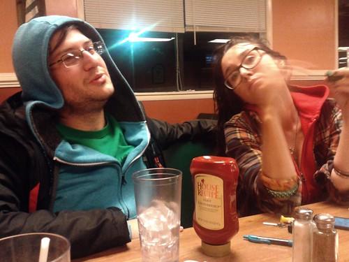 James and Leslie at Rick's (Nov 12 2013)