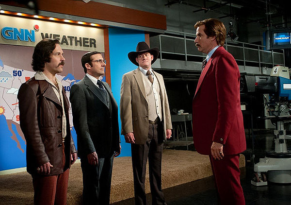Paul Rudd, Steve Carell, David Koechner and Will Ferrell offer more of the same in ANCHORMAN 2: THE LEGEND CONTINUES.