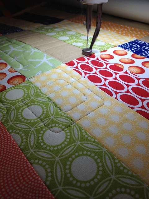 The making of the Spinnaker Quilt