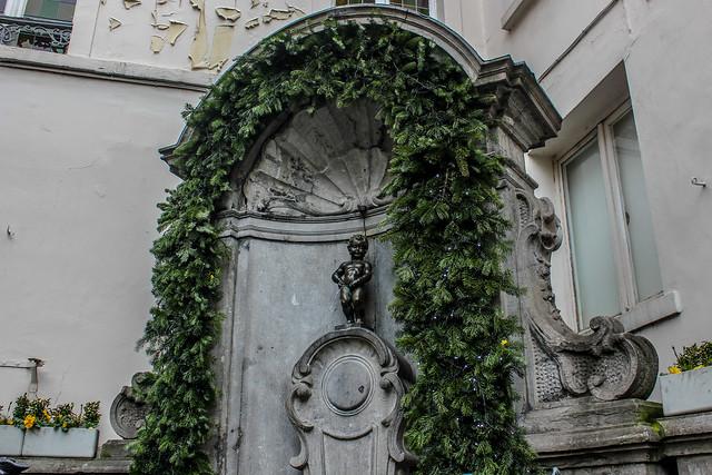 Manneken Pis de Bruselas