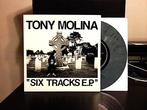 "Tony Molina - Six Tracks 7"" - Gray Vinyl by Tim PopKid"