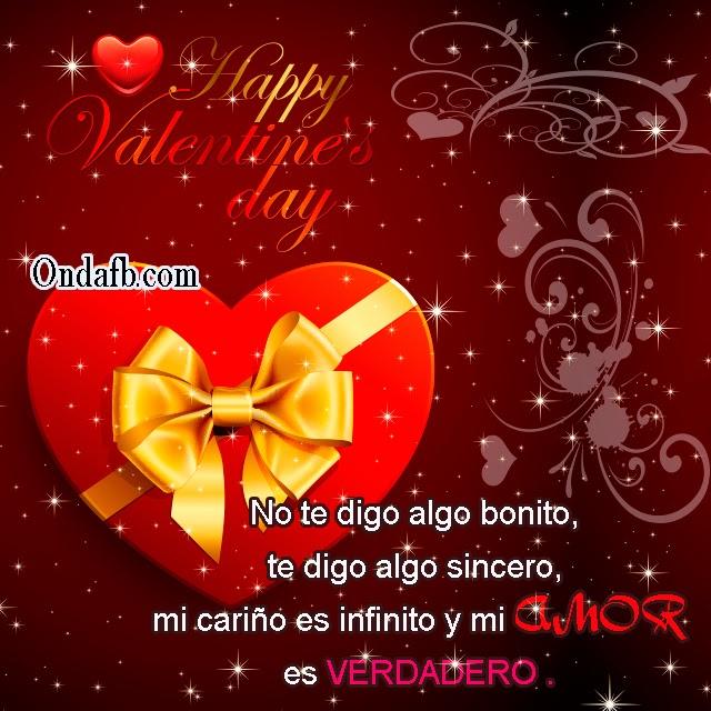Bonita Imagen De Amor Con Un Lindo Corazon Y Frase De Feliz Dia De