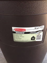 Rubbermaid Garbage Can Label - Model 1339