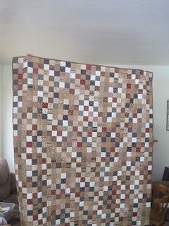 Spencer's Postage Stamp quilt
