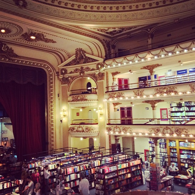 One of the prettiest bookstores I've...
