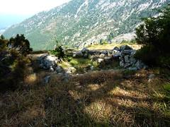 Une des ruines de la bergerie de Biancarellu