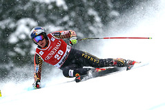 Guay competes in the Super-G following a solid 2 days of downhill racing in Kvitfjell, NOR