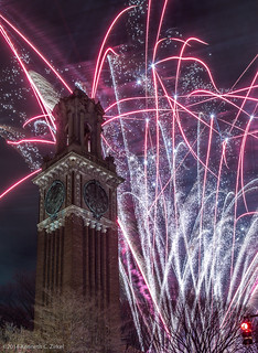 Fireworks at Brown University