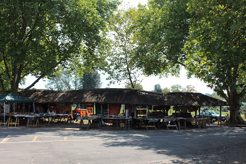 Howick craft market stalls