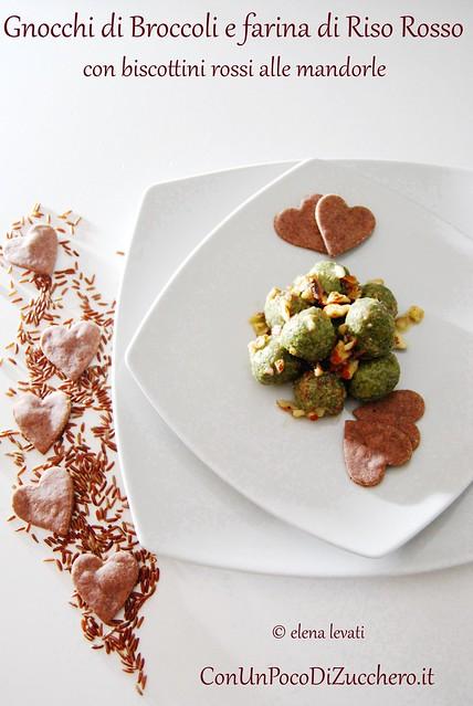 Gnocchetti di broccoli e riso rosso 1