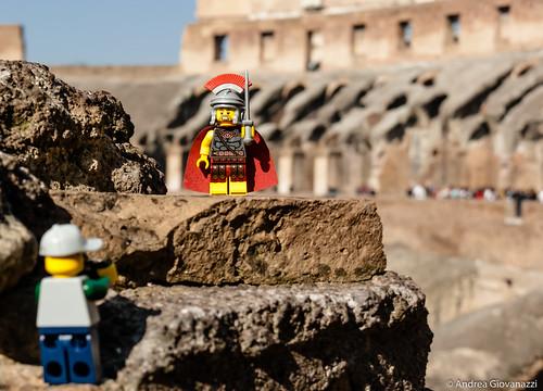 Lego al Colosseo