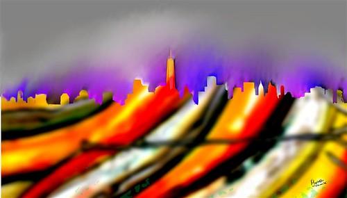 cityscapes NEW MANHATTAN (Small) - Copy