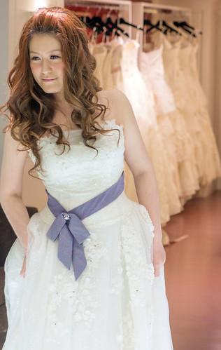 豐腴女孩也能挑到漂亮婚紗6