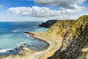 Giant's Causeway - cliffs