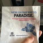 Einstimmung auf Hawaii.