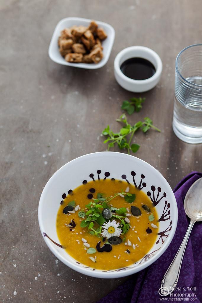 Pumpkin Persimmon Soup (0033)