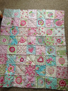My shabby Chic Raggy Quilt
