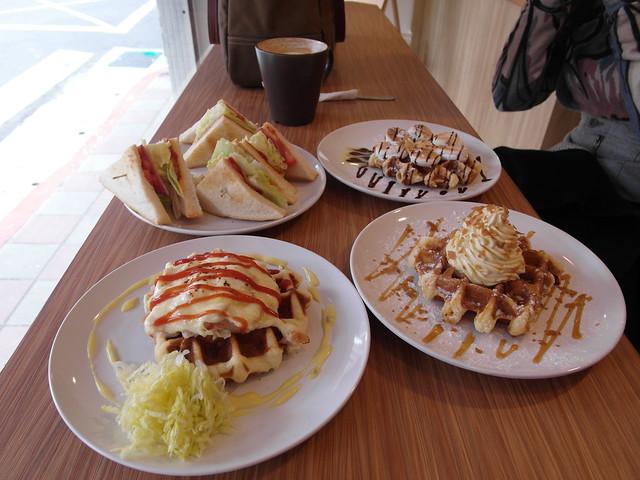 所有餐點一起來@內湖港墘 Waffle Please比利時列日鬆餅