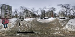 Moscow Timiryazevskaya district, planned for demolition PANO_20150208_144339