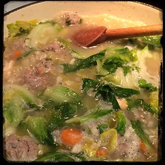 2Nite on Cucina Dello Zio - The Uncle's Kitchen - #homemade #ItalianWeddingSoup #CucinaDelloZio