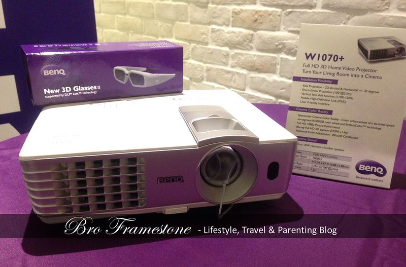BenQ W1070+ Home Video Projectors