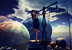She balanced the weight of the world so gracefully no one noticed.