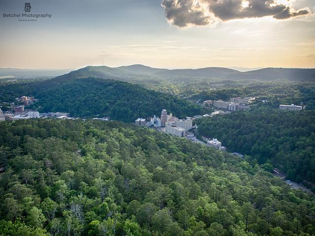 Hot Springs Arkansas Tower view