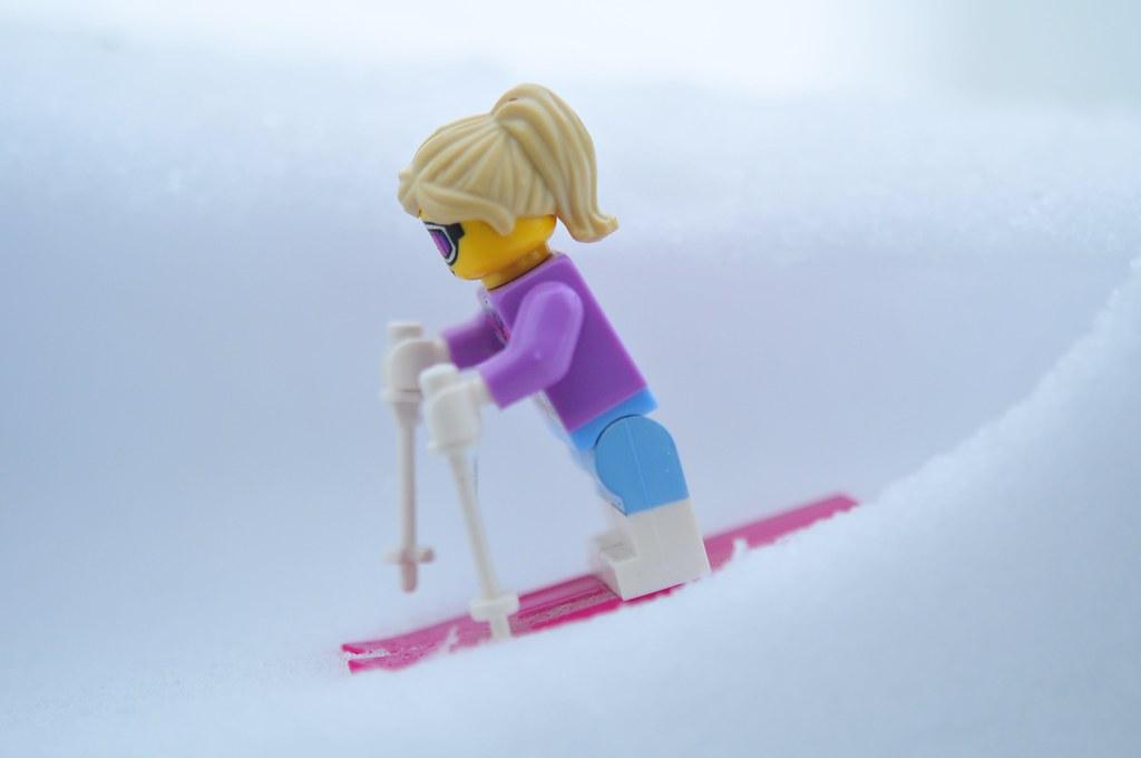 ski girl!
