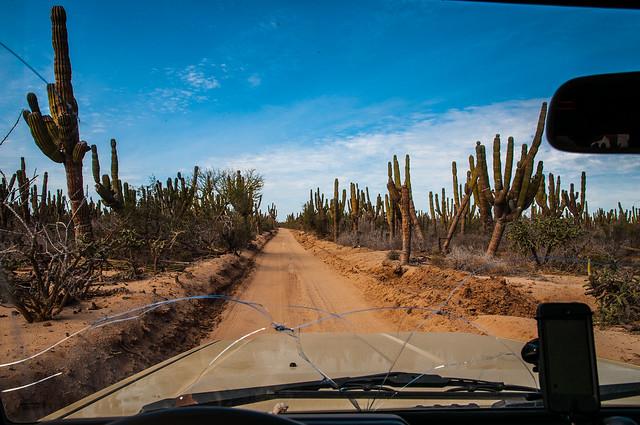 Driving to San Sebastian