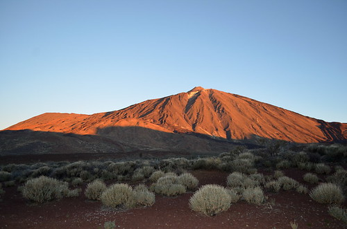 Sunrise on Mount Teide