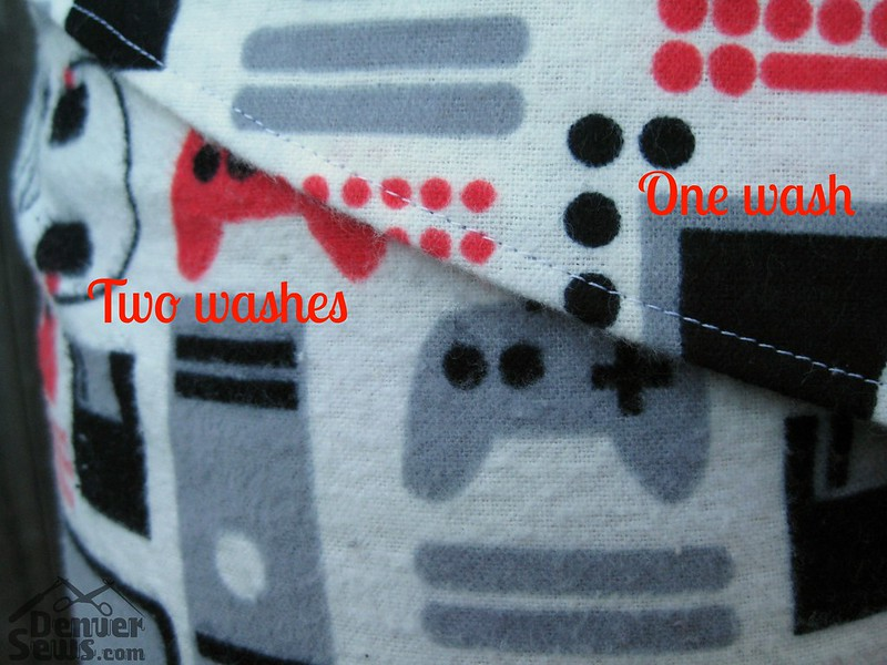 Closet Case Carolyn Pajamas - Pilled JoAnns Flannel Fabric